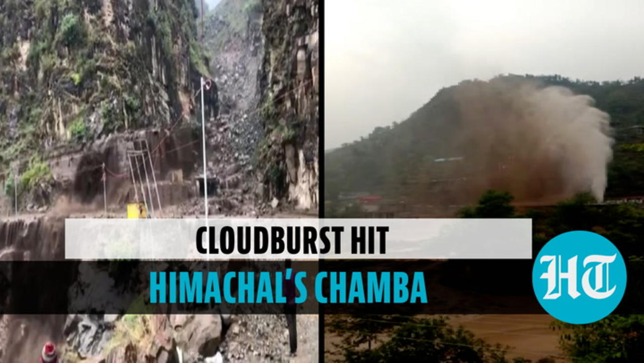 Cloudburst triggers landslides in Himachal's Chamba; damages private properties
