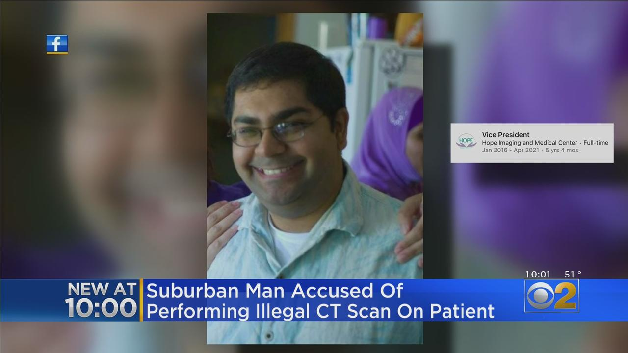 Man Accused Of Performing Illegal CT Scan On Patient; Authorities Say He Was Not Certified Or Trained