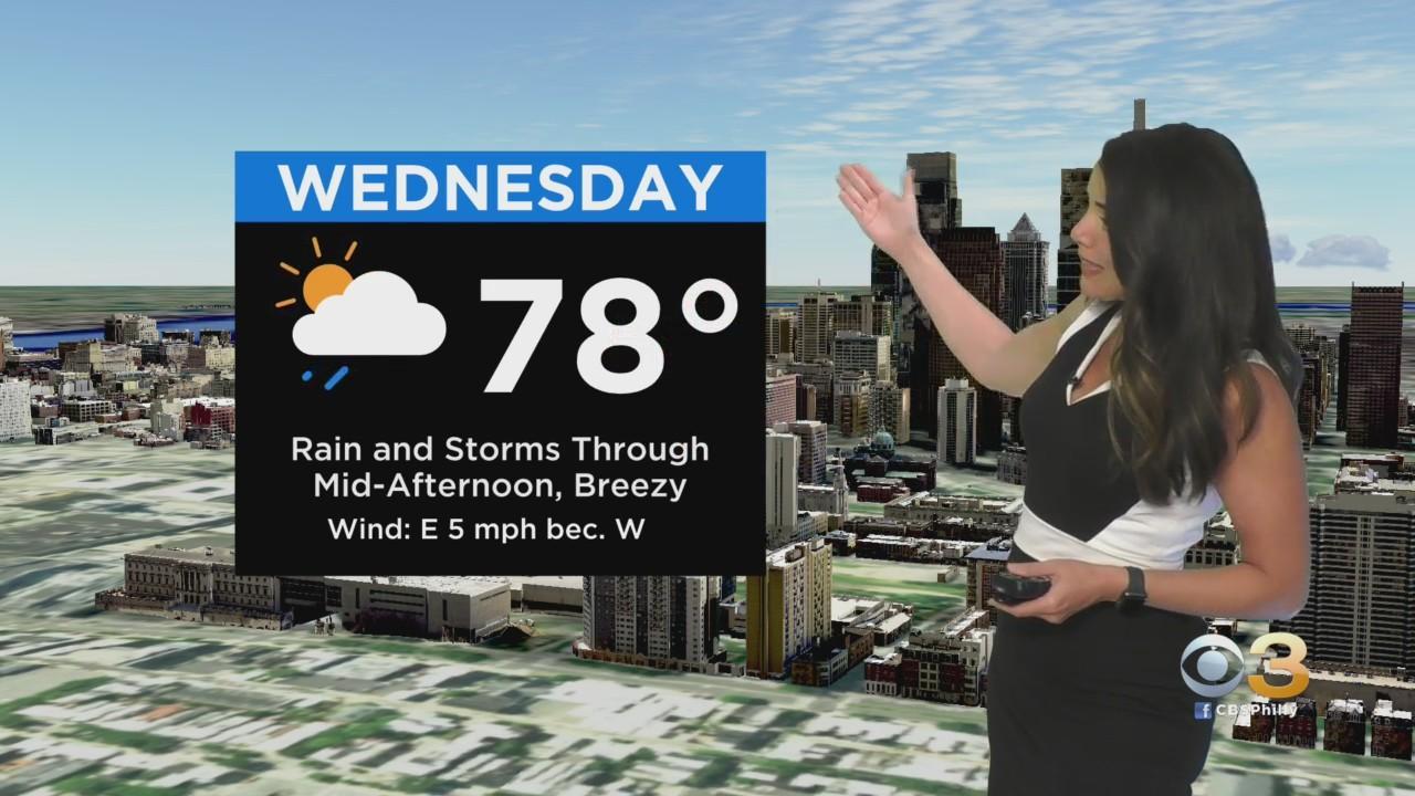 Philadelphia Weather: Best Chance For Heavy Rain
