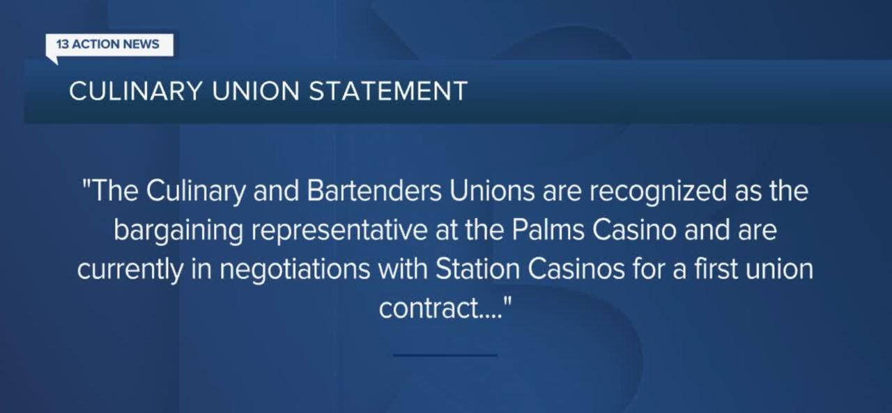 Culinary Union says Palms sale will not impact negotiations on behalf of workers