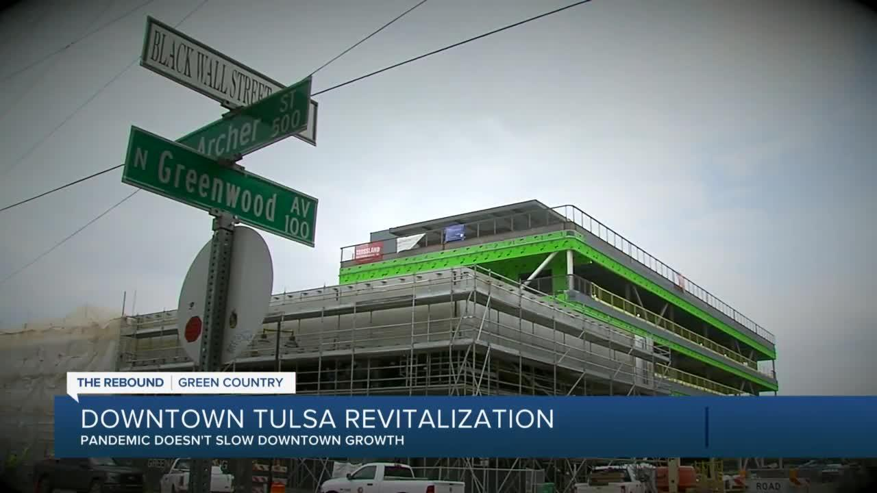 Downtown Tulsa continues to develop amid pandemic