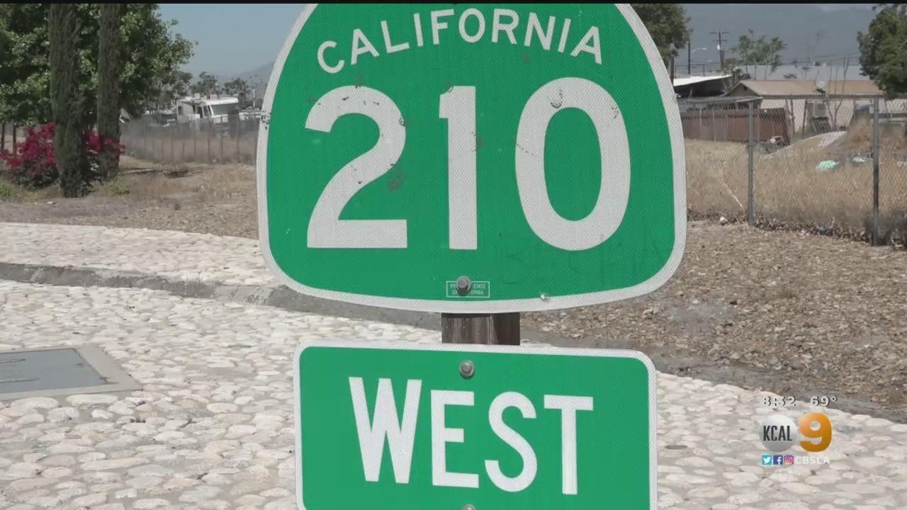 Caltrans Worker Finds Foot On 210 Freeway In San Bernardino