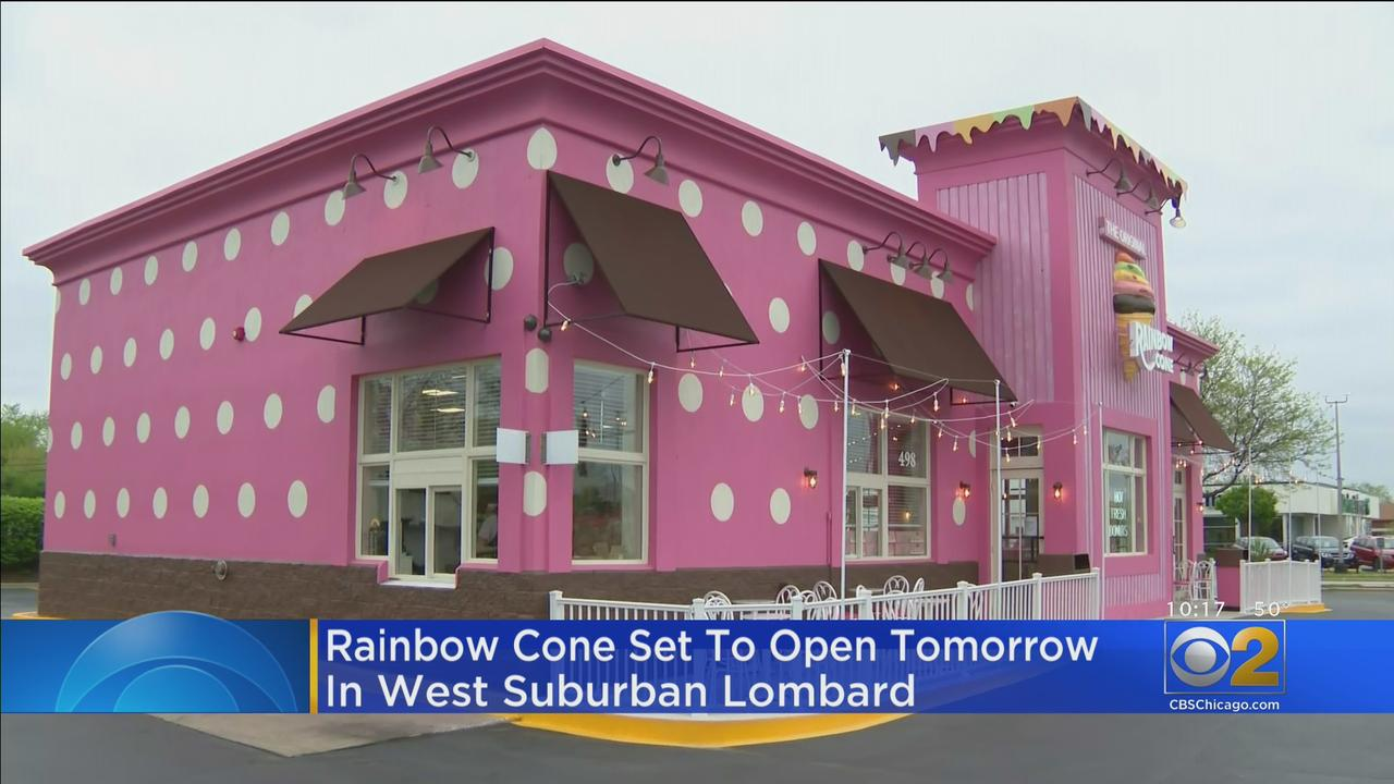 South Side Staple Rainbow Cone Set To Open In West Suburban Lombard