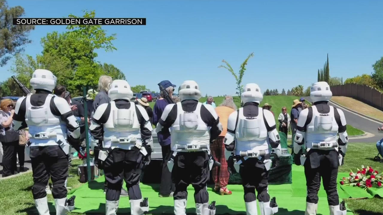 Local Man Who Designed Star Wars Biker Scout Costume Honored By Cosplayers At Funeral