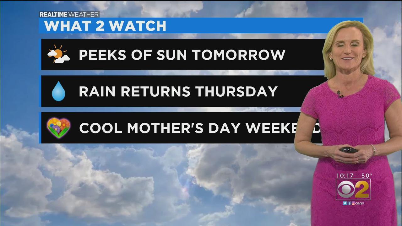 Chicago Weather: Peeks Of Sun On Wednesday