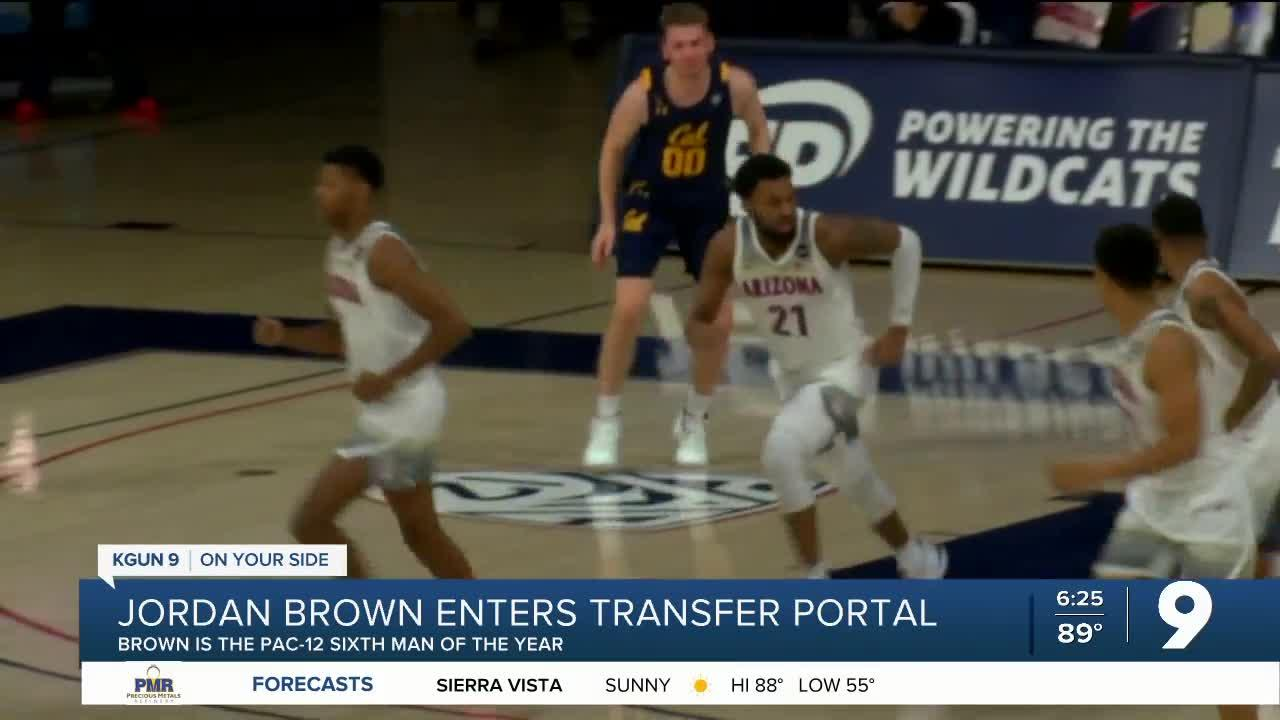 Jordan Brown enters the transfer portal