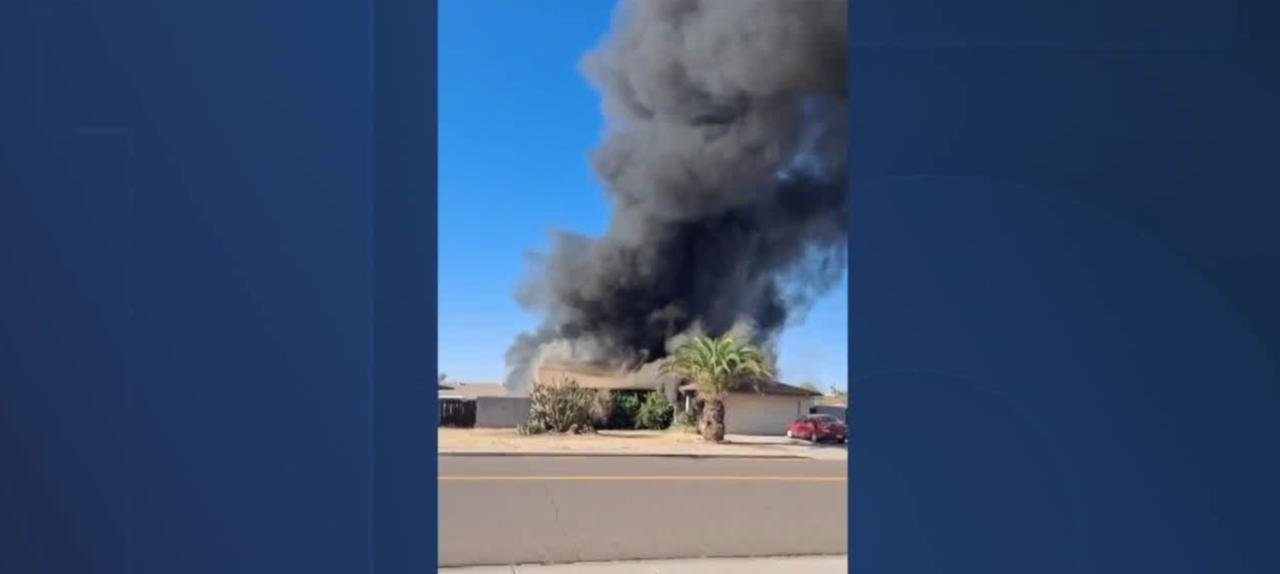 House fire heroes take action in Arizona