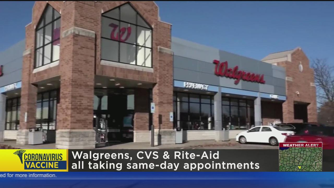 Three Drugstore Chains Offering Walk-In Vaccine Appointments