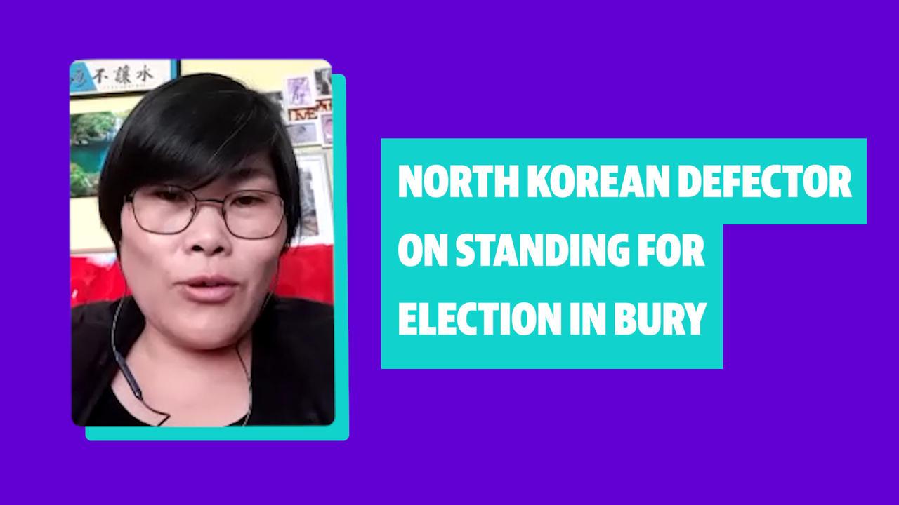 North Korea defector Jihyun Park on standing for election in Bury