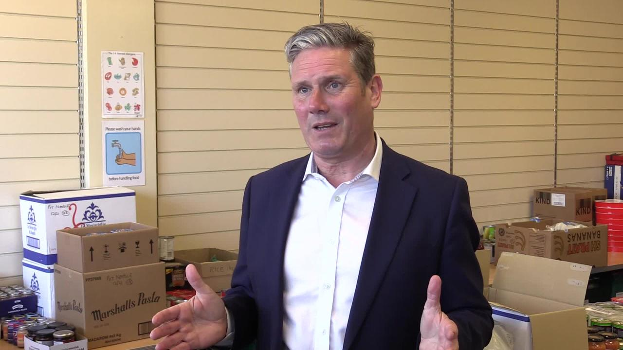 Starmer concedes Labour have a way to go in polls