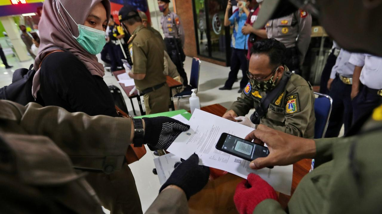 Indonesia bans internal travel ahead of Eid holidays over COVID fears