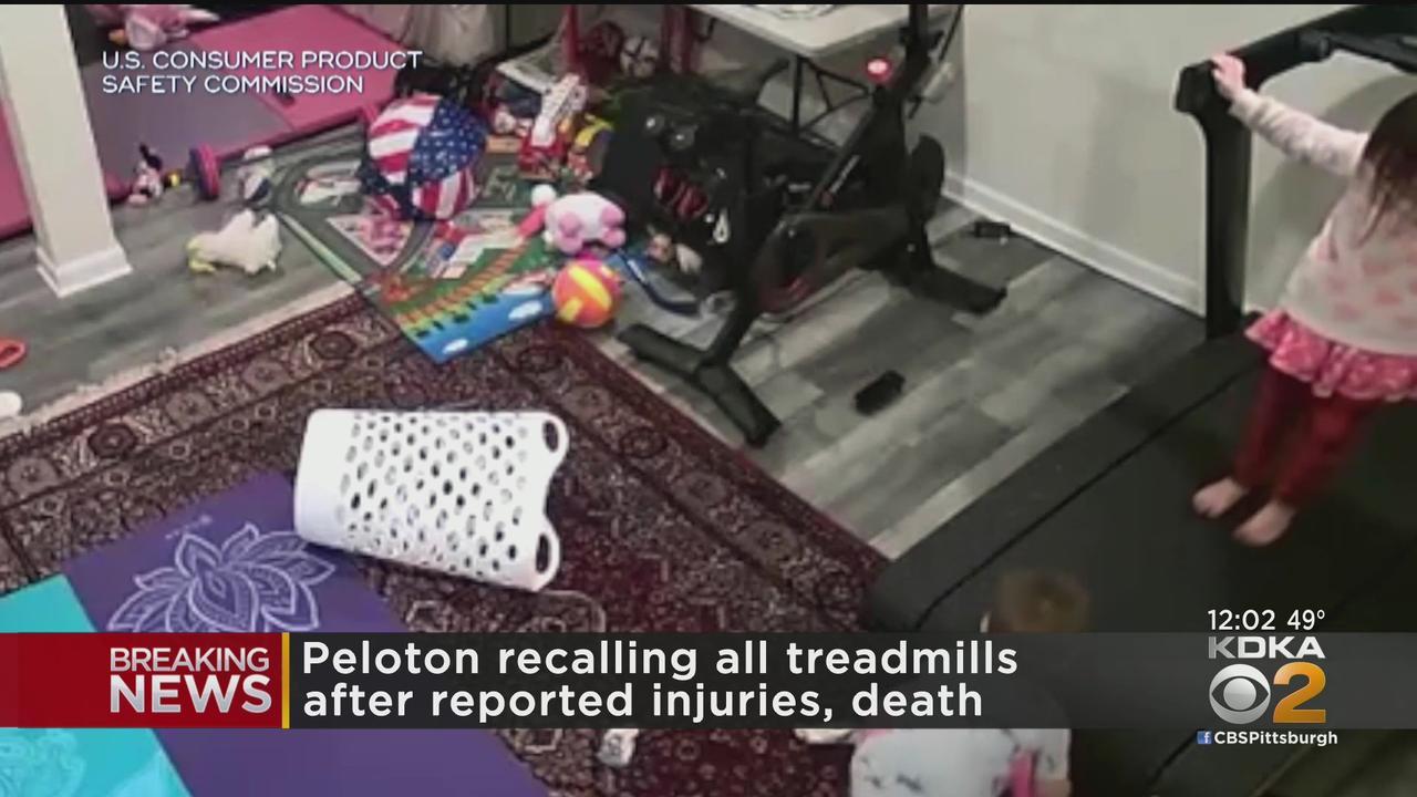 Peloton Recalls Treadmills After Child's Death And 70 Injuries
