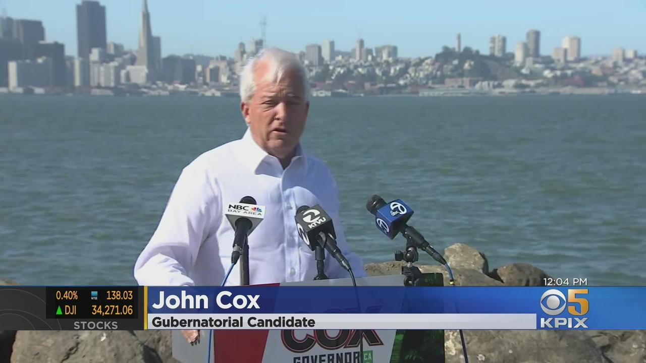 John Cox Brings 'Beastly' Gubernatorial Campaign To San Francisco Treasure Island