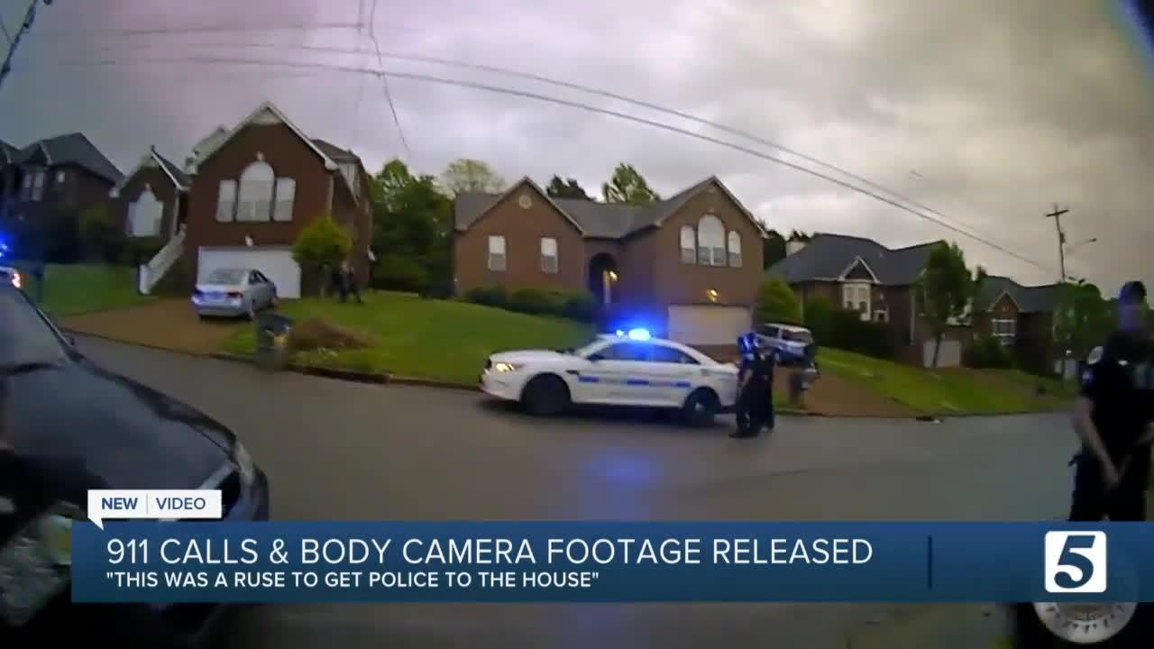 911 call, bodycam videos reveal moments before and after MNPD officer shooting
