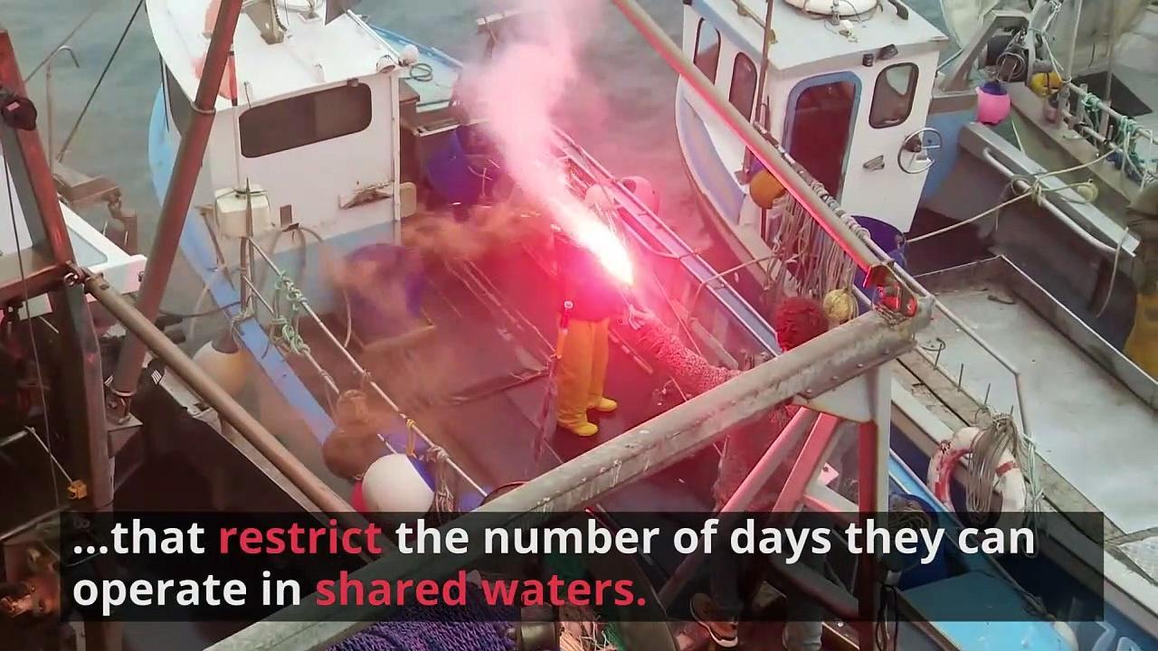 Royal Navy Vessels Patrol Waters Amid Fisherman Dispute