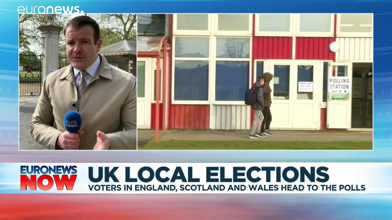 UK voters head to the polls in England, Scotland and Wales on 'Super Thursday'