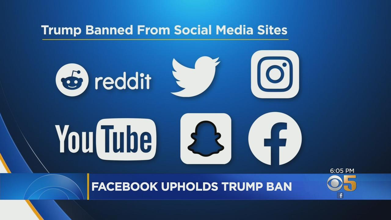 Facebook Upholds Ban On Former President Trump's Account