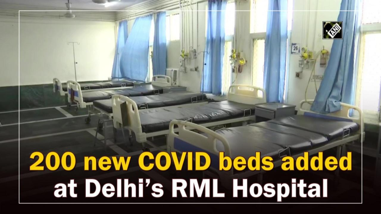 200 new COVID beds added at Delhi's RML Hospital