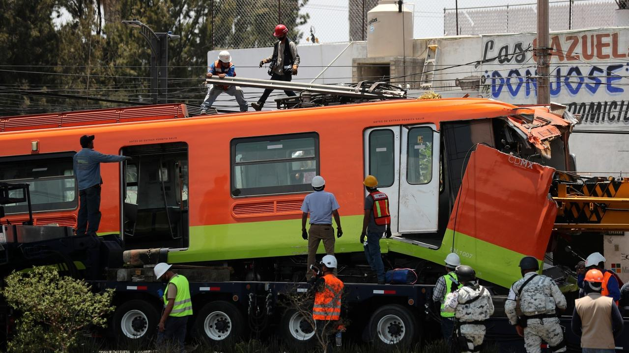 Mexico metro crash: Outrage growing over infrastructural problems