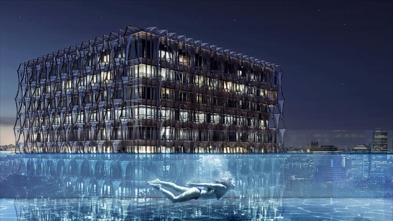World's First 'Floating' Sky Pool To Open In London In May