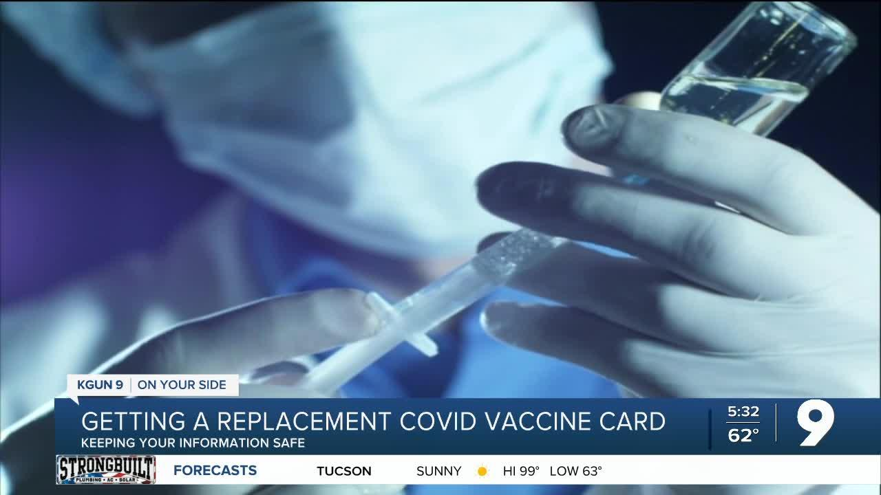 VACCINE CARDS: What you need to know