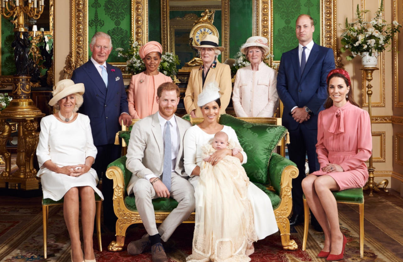 The Royal Family lead tributes to Archie Mountbatten-Windsor