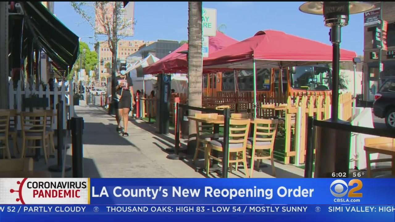 LA County Moves Into Yellow Tier, Bars Allowed To Reopen Indoors