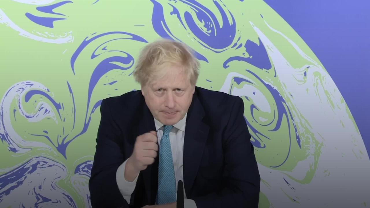 Boris Johnson urges 'era-defining outcome' from Cop26