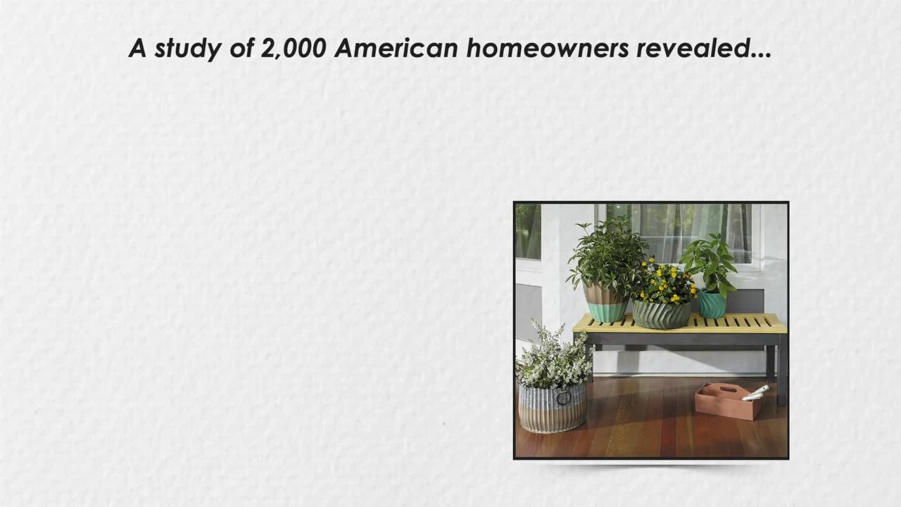Over half of Americans think their home exterior lacks 'curb appeal'