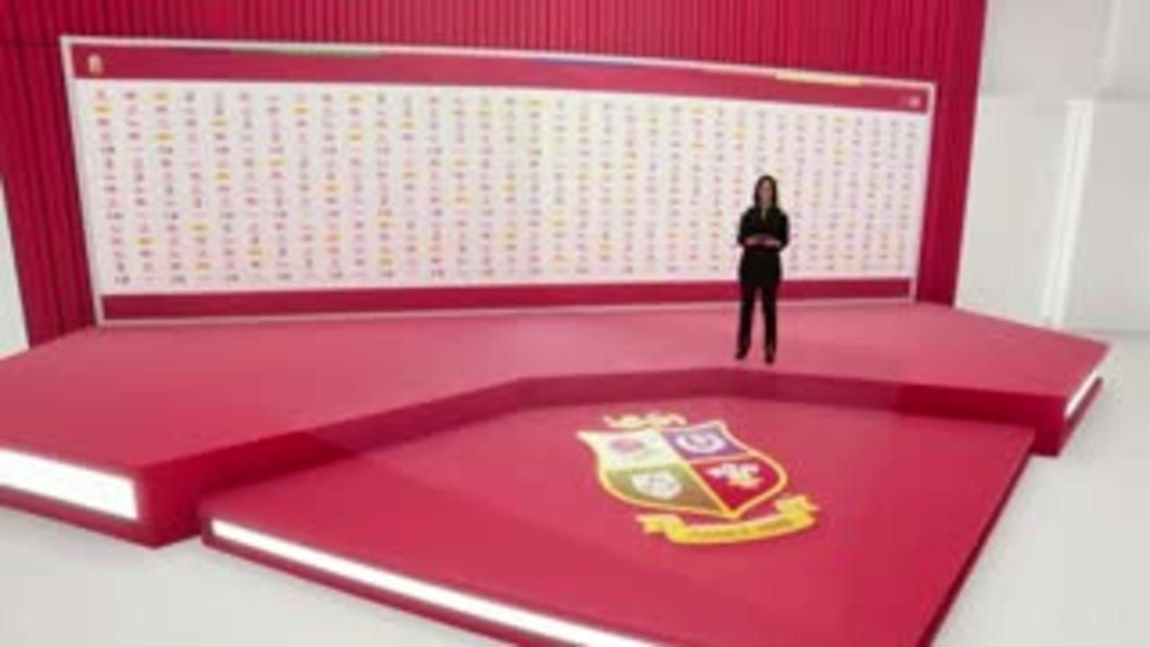 Alun Wyn Jones revealed as Lions captain via hologram