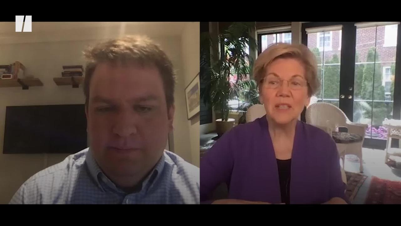 Warren: 'Joe Biden Has Stepped Up To The Moment'