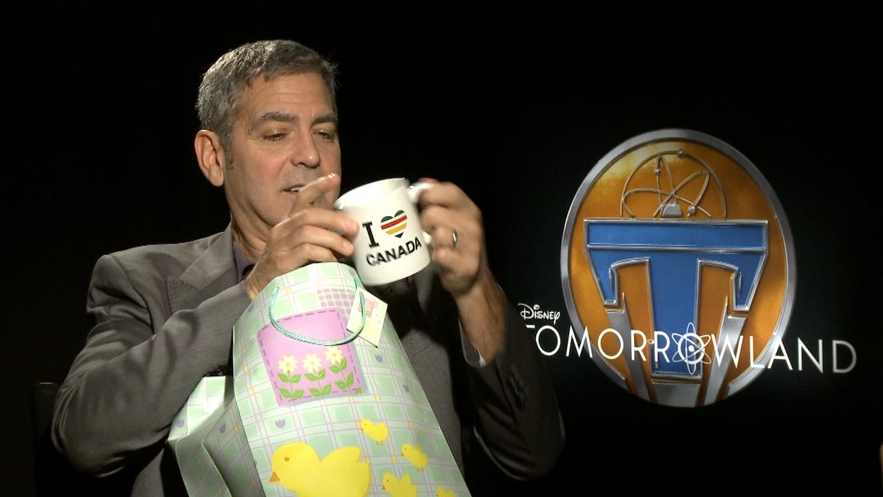 From The Vault: George Clooney Celebrates His 54th Birthday Canadian-Style