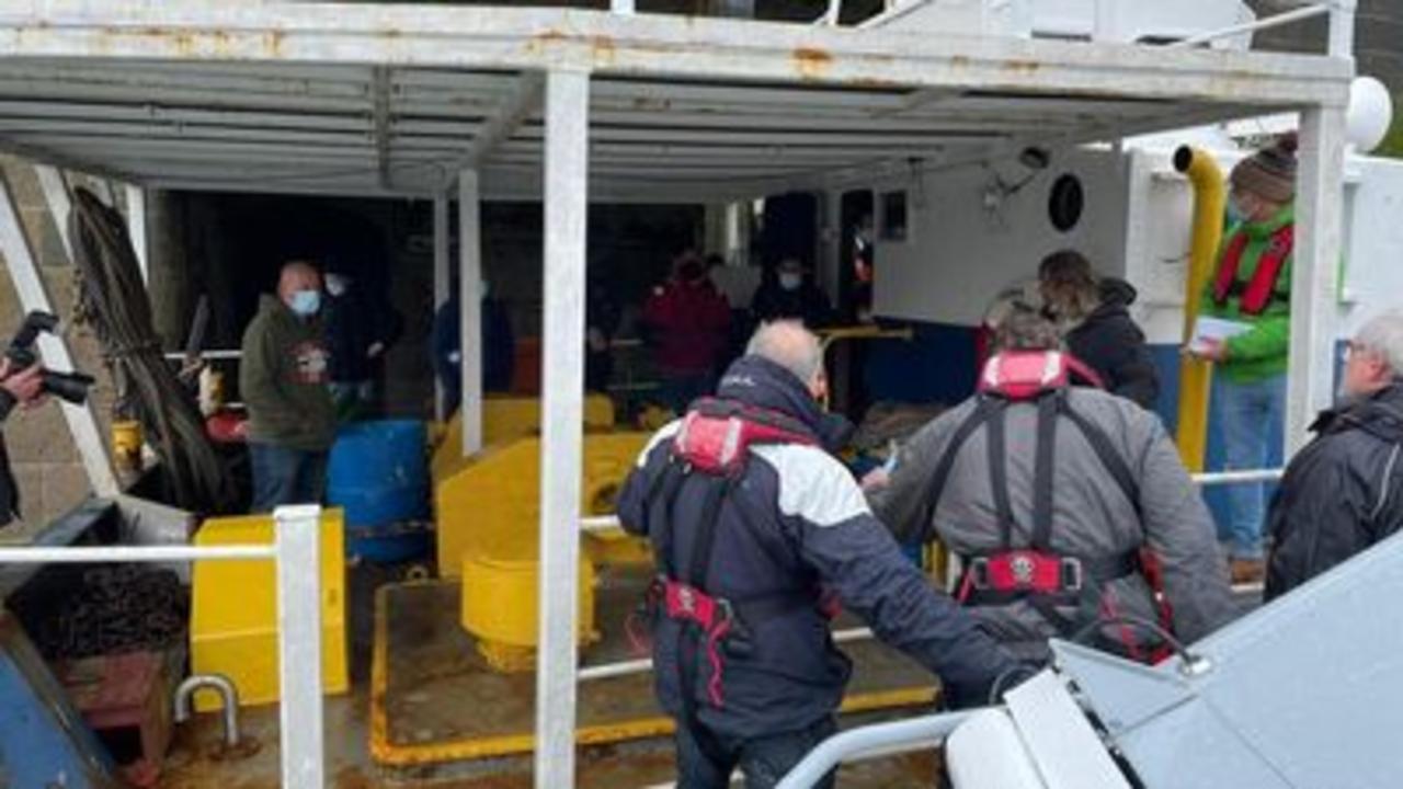 Jersey blockaded in French fishing dispute