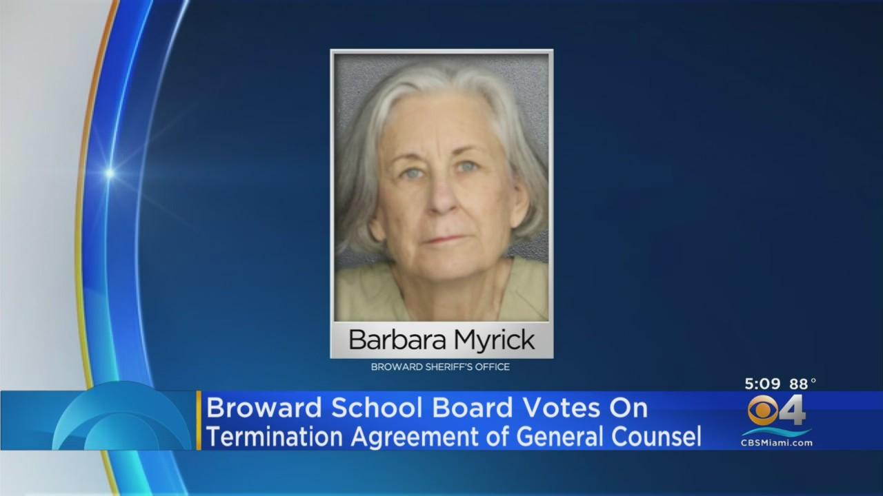 Broward School Board Votes To Move Forward With Exit Deal For General Counsel Barbara Myrick