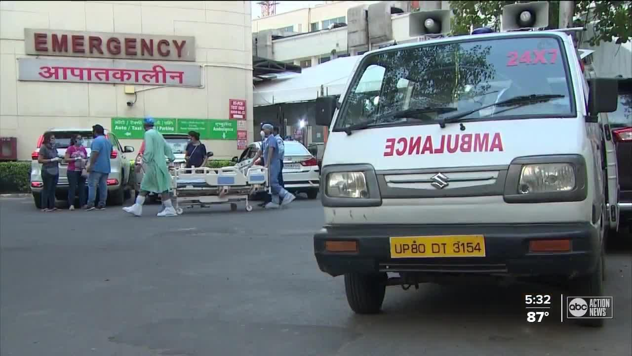 Local doctor living in India details COVID-19 crisis, says he's hopeful the country is hitting plateau in cases