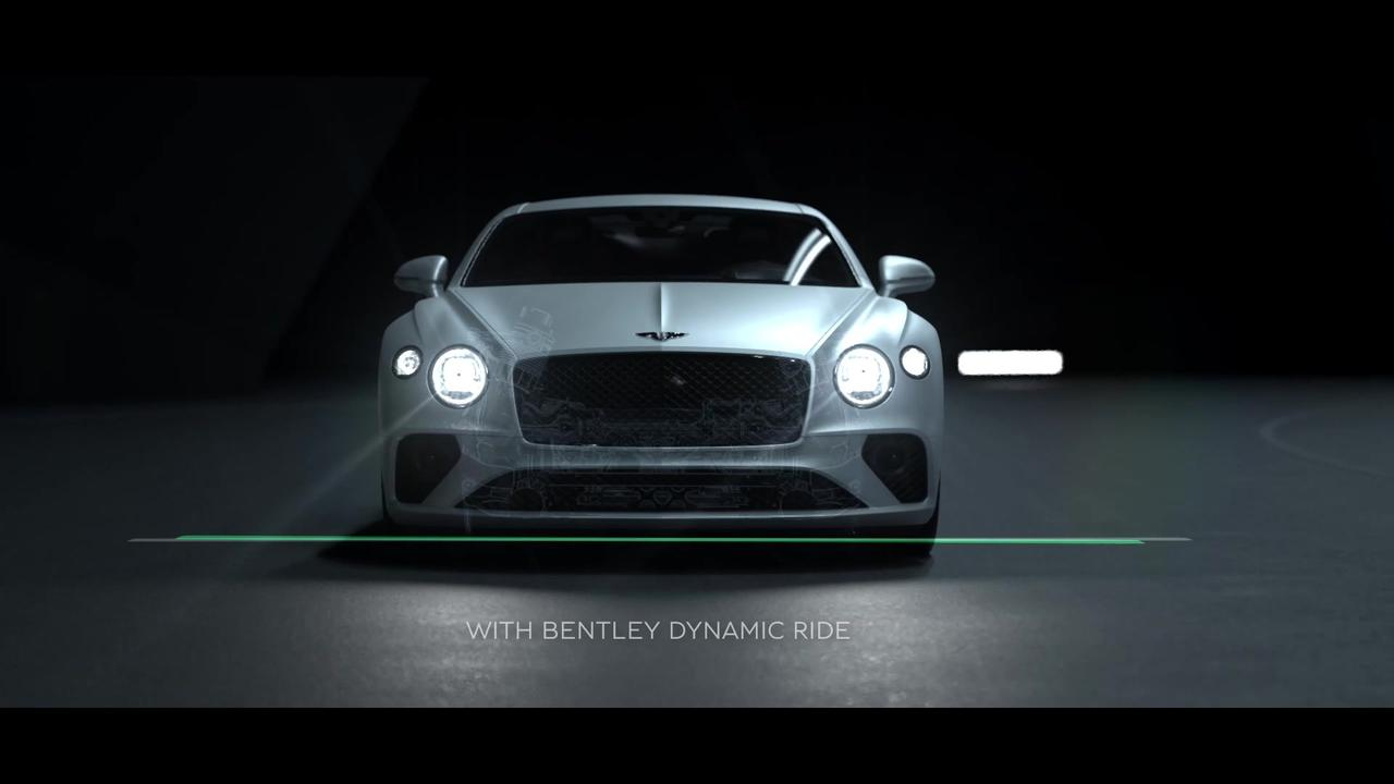 Bentley Continental GT Speed - The most advanced  Bentley chassis yet