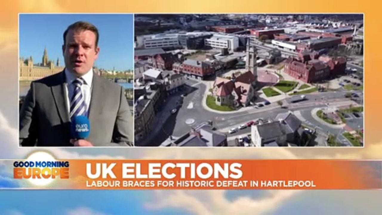 UK elections: Tories win Westminster seat in Labour stronghold of Hartlepool
