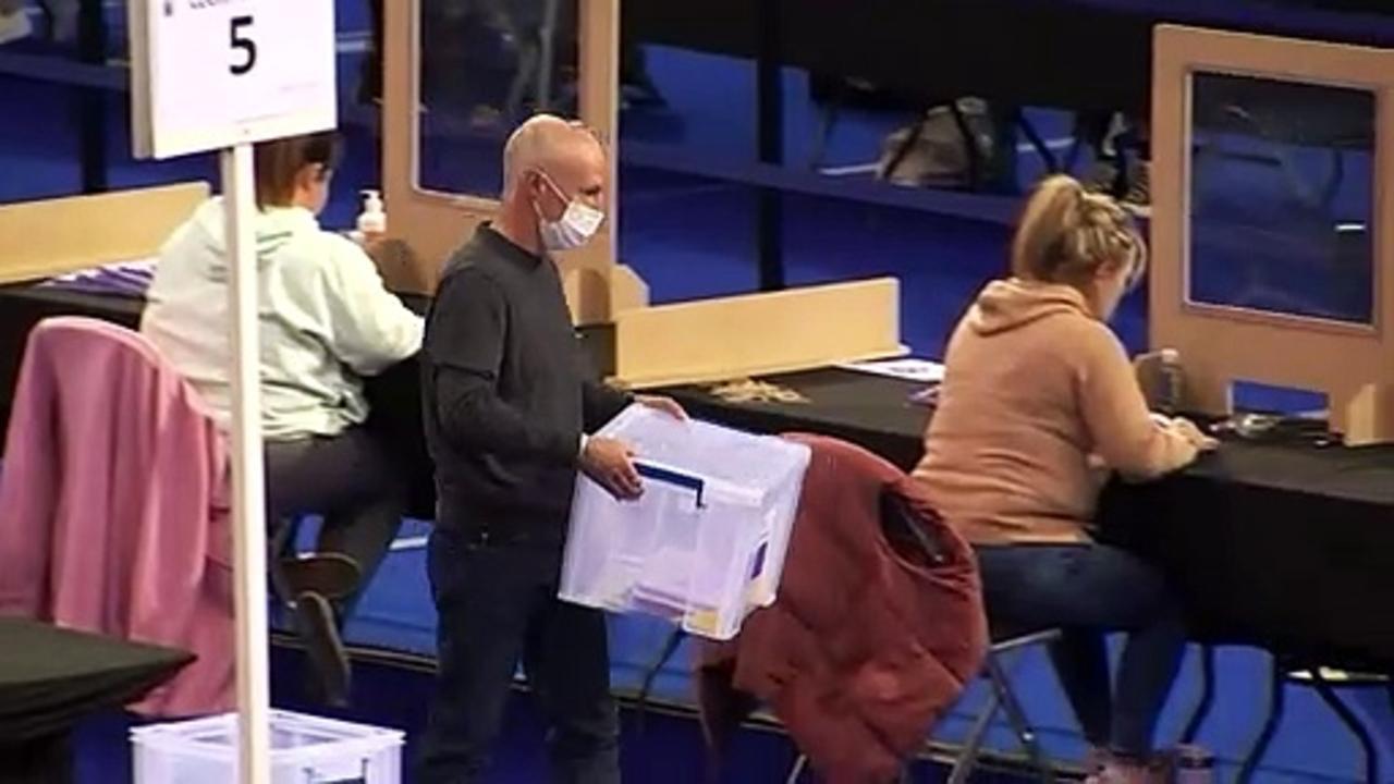 Vote count begins across Glasgow