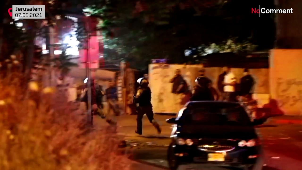 15 Palestinians arrested over East Jerusalem Clashes