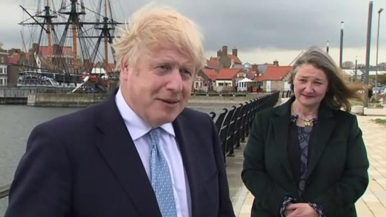 Boris Johnson visits Hartlepool after Tories take seat