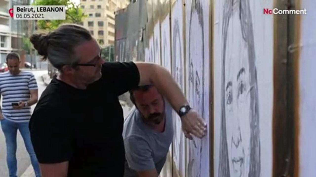 Beirut blast victims with 204 portraits