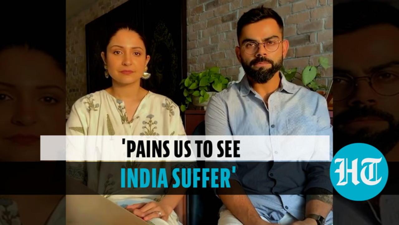 Watch: Anushka Sharma, Virat Kohli start fundraiser for Covid relief, share video