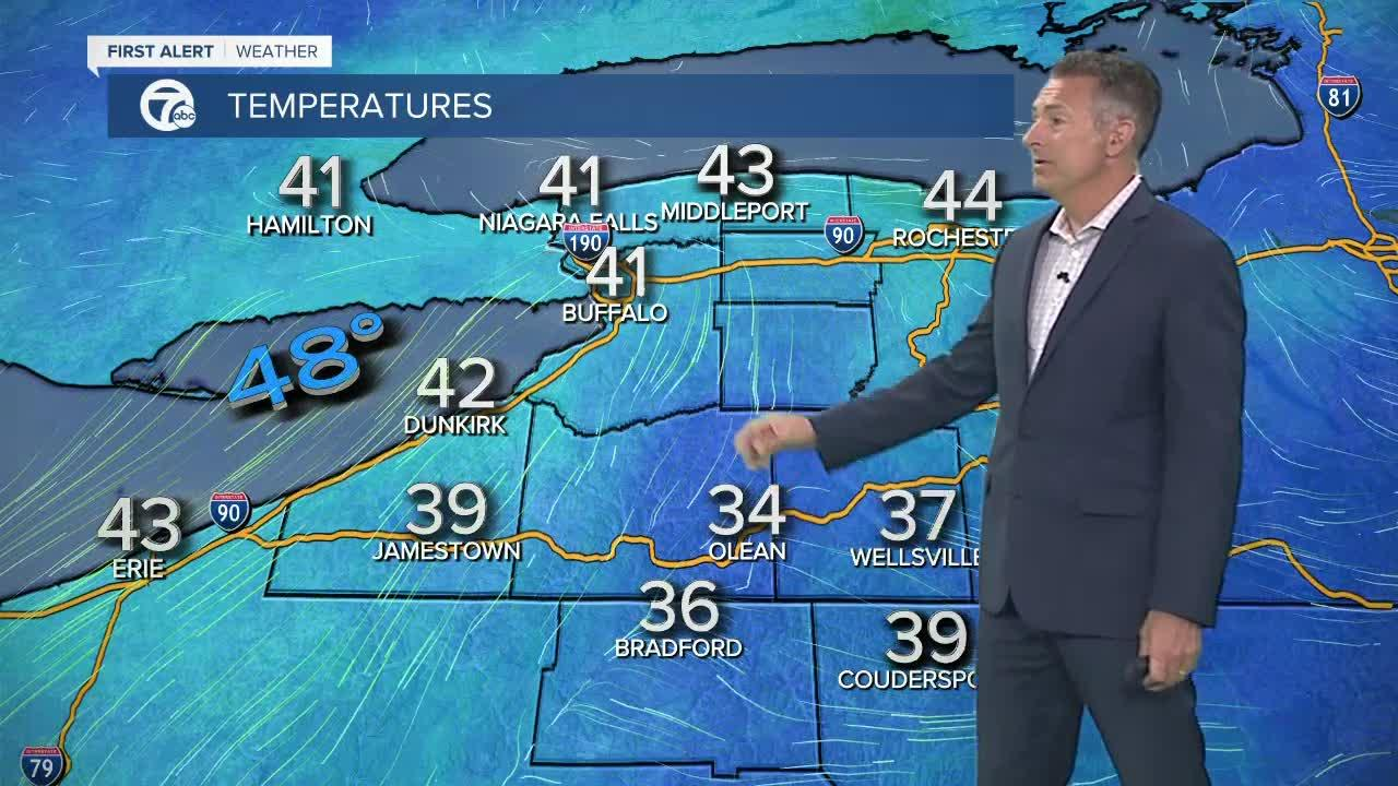 7 First Alert Forecast 5am Update, Friday, May 7