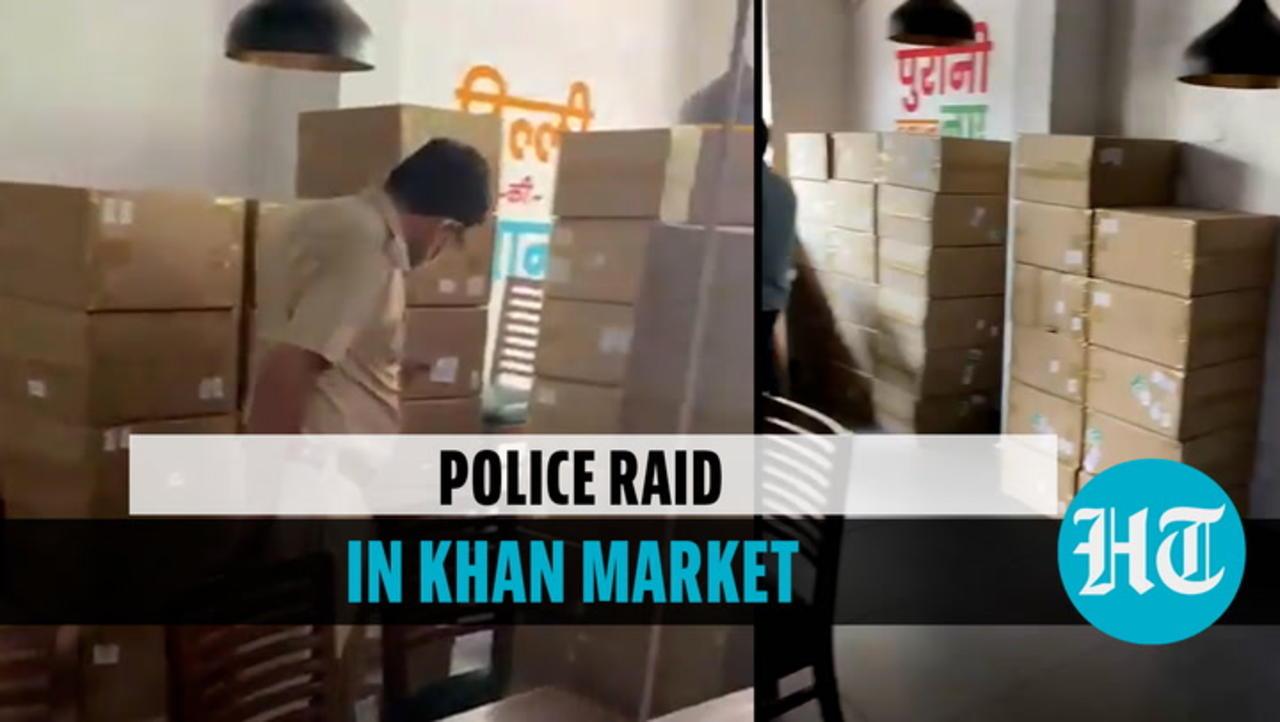 Watch: Cops raid Khan Chacha restaurant, 96 oxygen concentrators seized