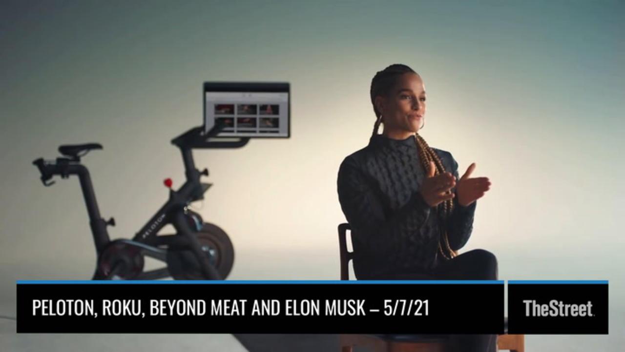 Peloton, Roku, Beyond Meat, Elon Musk – On TheStreet Friday