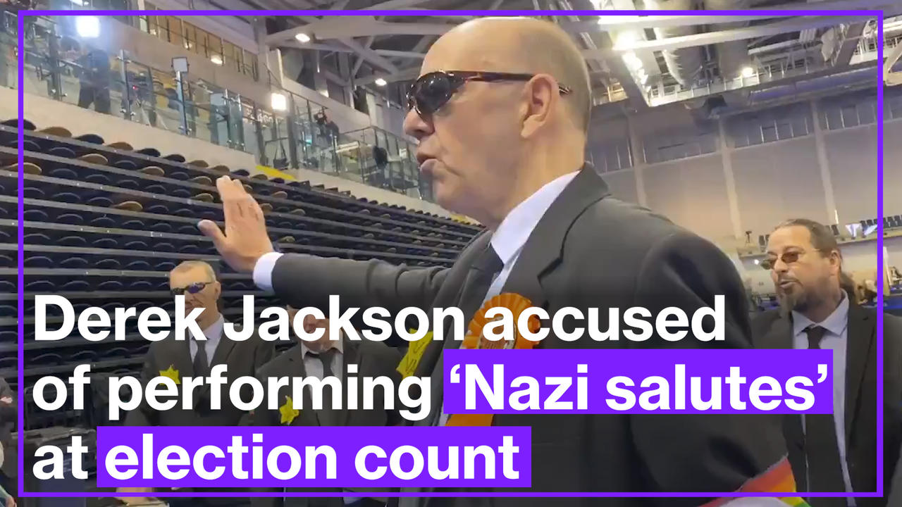 Glasgow Liberal candidate accused of performing 'Nazi salutes' at election count