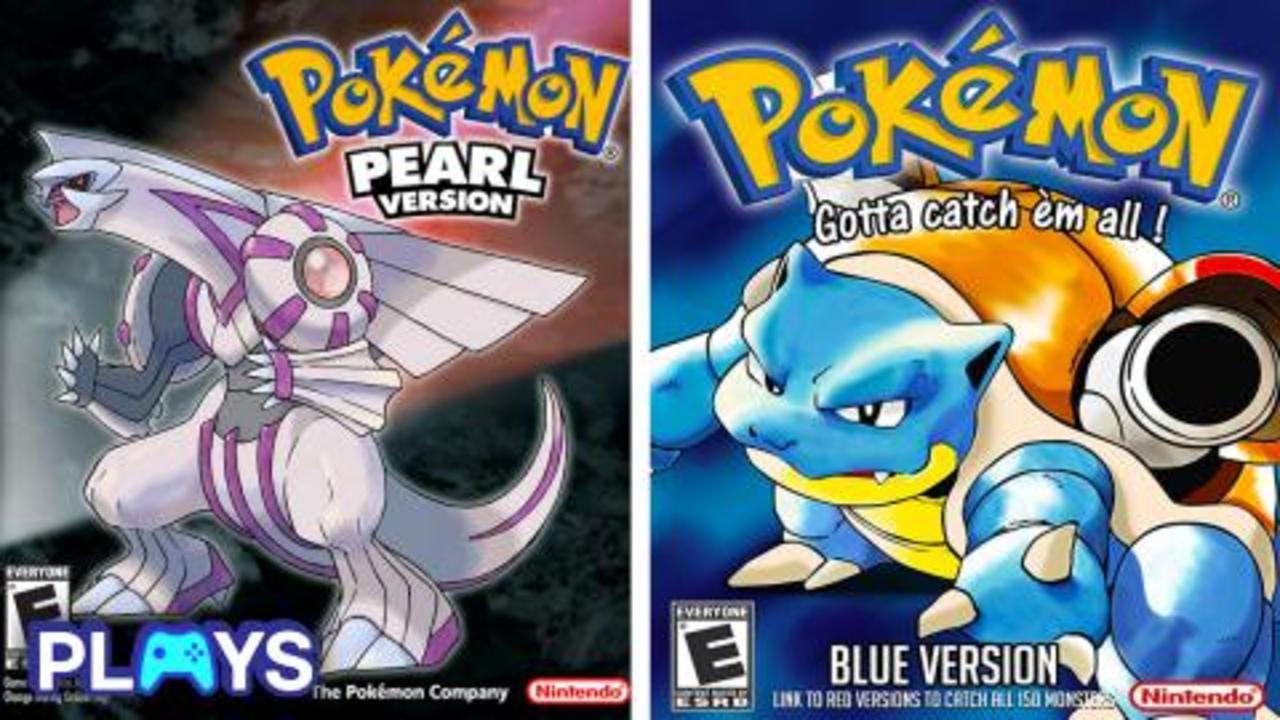 Every Main Pokémon Game Ranked