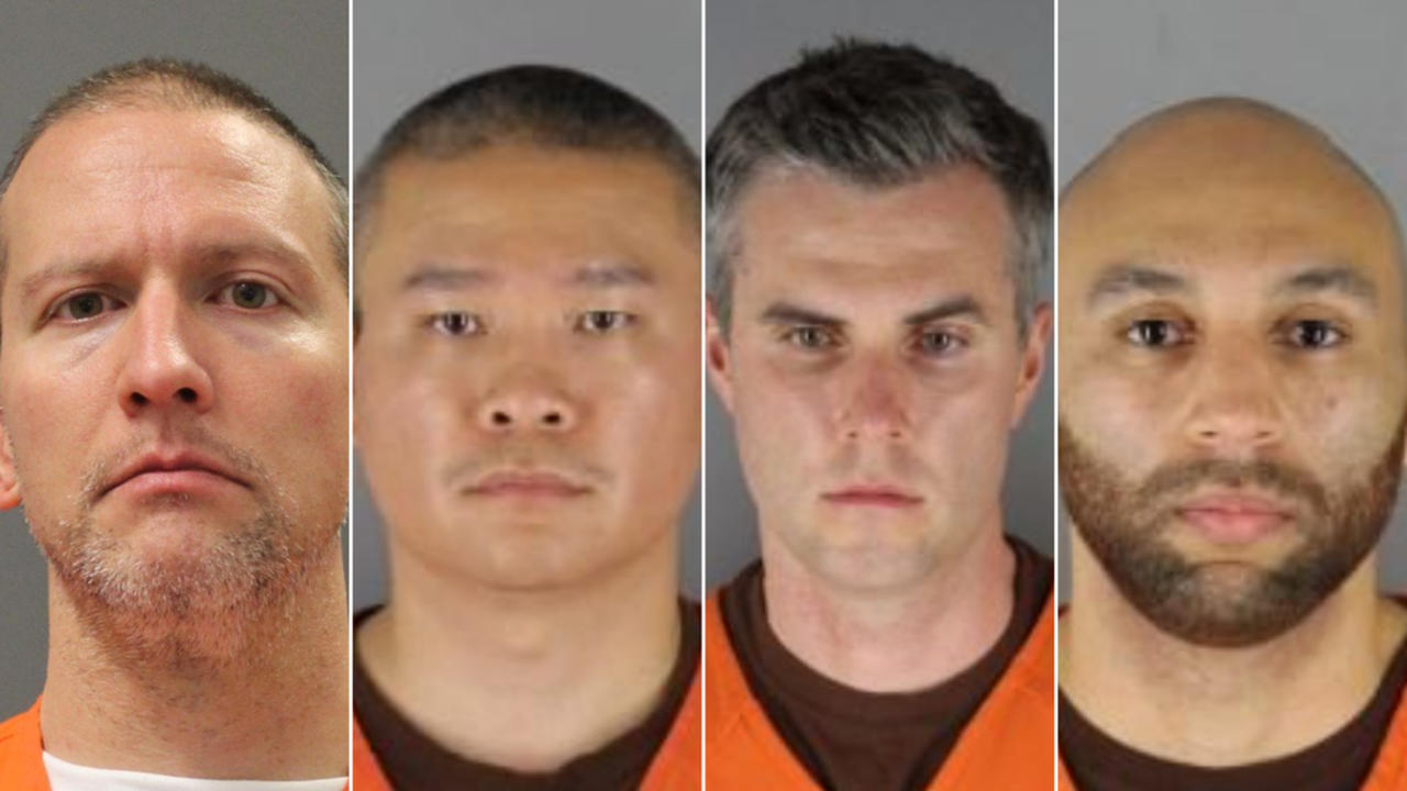 Federal grand jury indicts 4 ex-officers in George Floyd's death