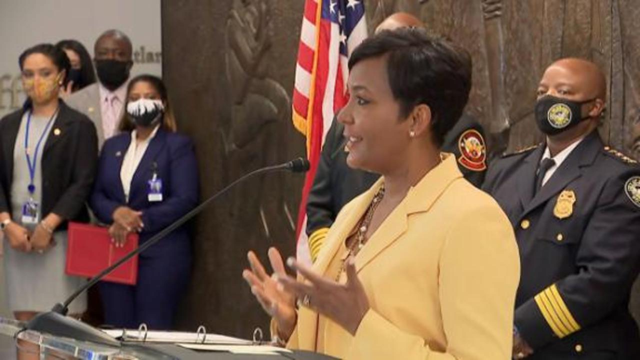 Keisha Lance Bottoms: This decision was made from position of strength