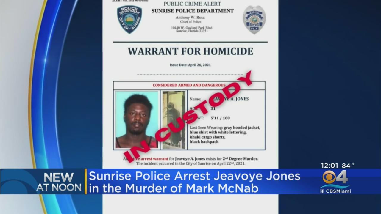 Sunrise Police Arrest Man In Murder Of His Roommate